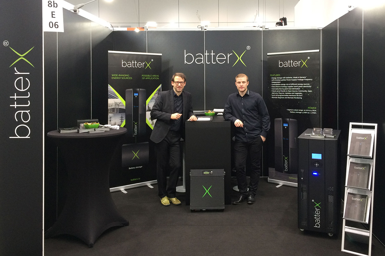 SUCCESSFUL PARTICIPATION IN THE ENERGY STORAGE FAIR DÜSSELDORF 2017